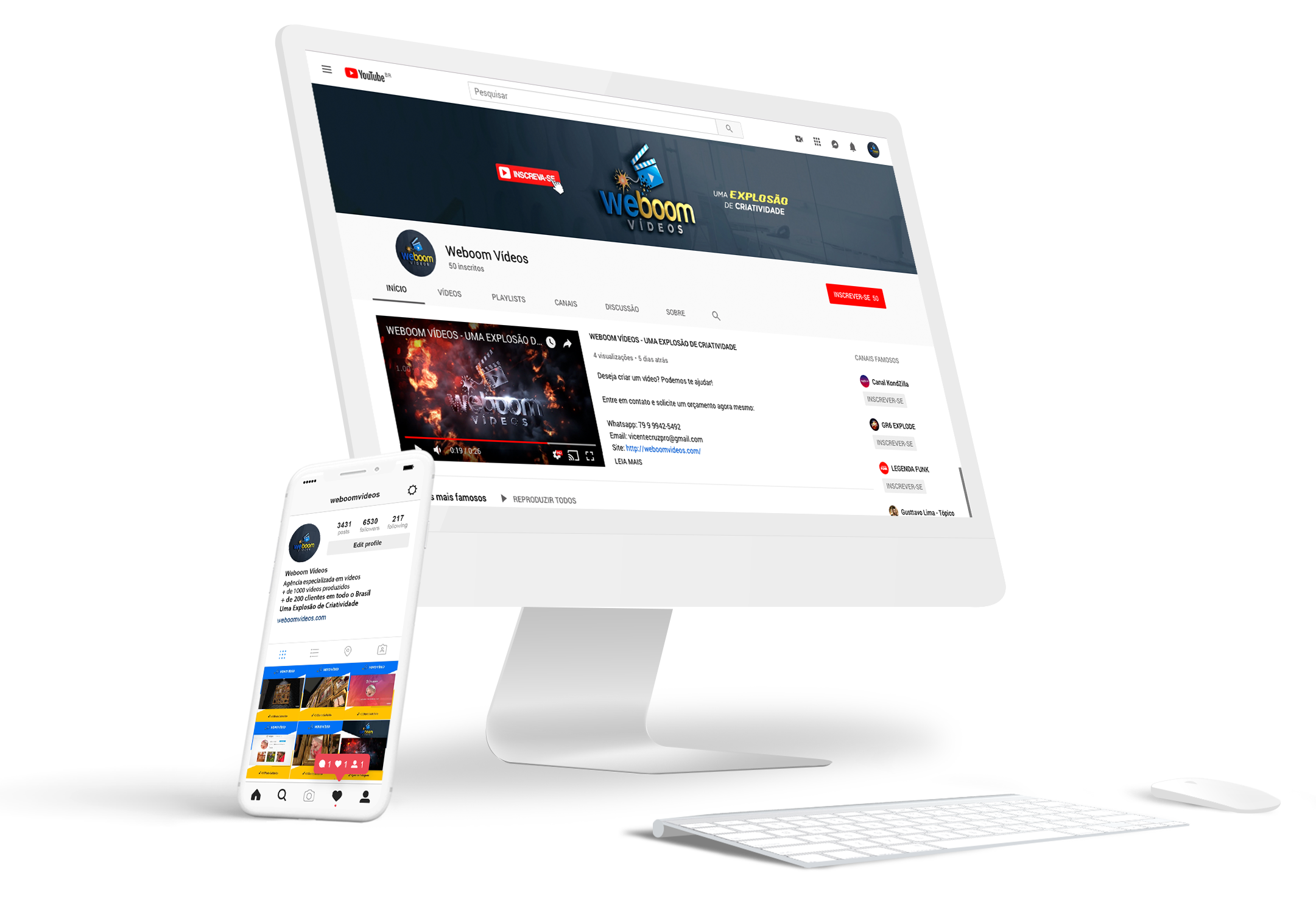 Sobre o Weboom Vídeos - Weboom Vídeos